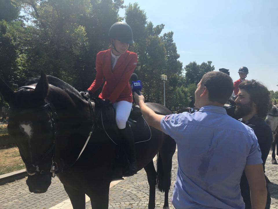 Parada cailor în Parcul Carol, București