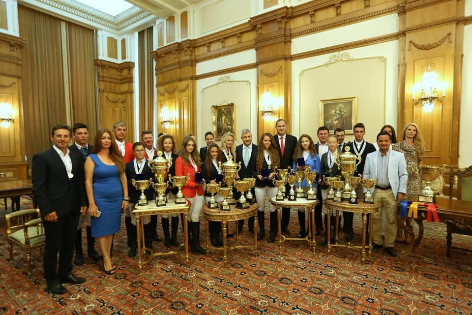 Sportivii chemați și premiați de Camera Deputaților