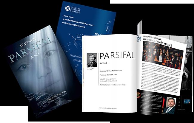 Caietul program Parsifal la Ateneu