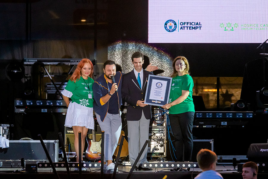 HOSPICE Casa Speranței intră în Guinness World Records®